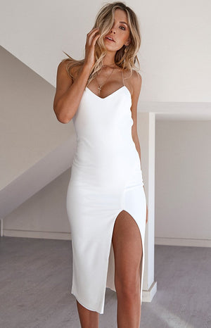 Harlow Dress White