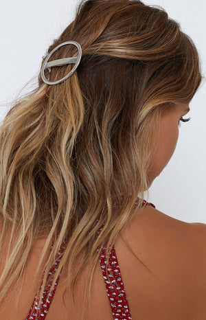 Swept Away Hair Pin Silver