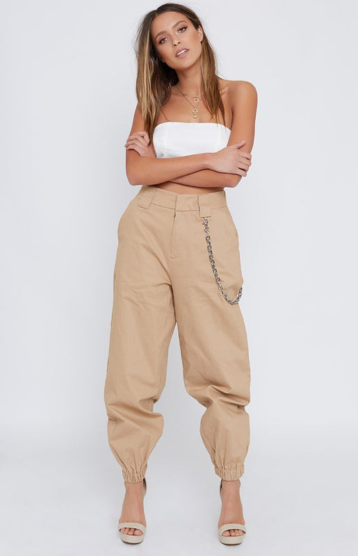 I.AM.GIA Cobain Cargo Pants Tan