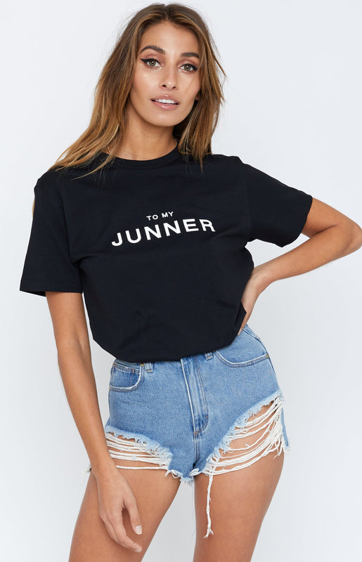 Junner T-Shirt Black