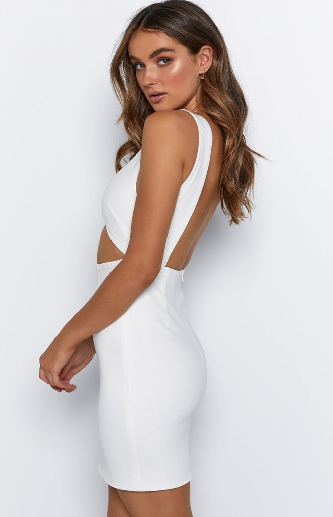 Beau Dress White