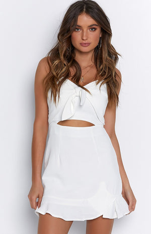 Ibby Dress White