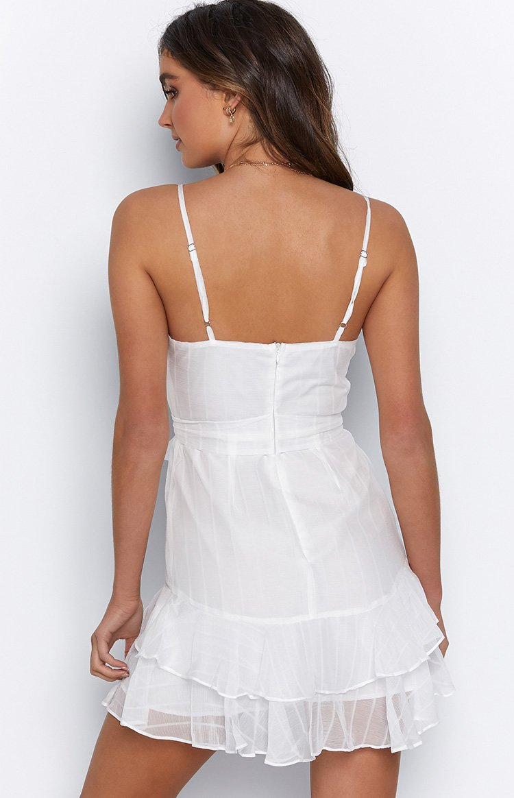 Morning Dew Dress White