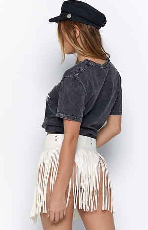 Eclat Dance The Night Away Tassel Belt White