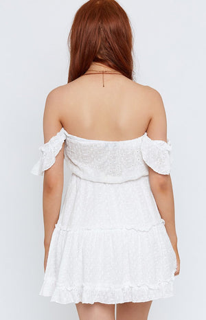 Surrender Dress White