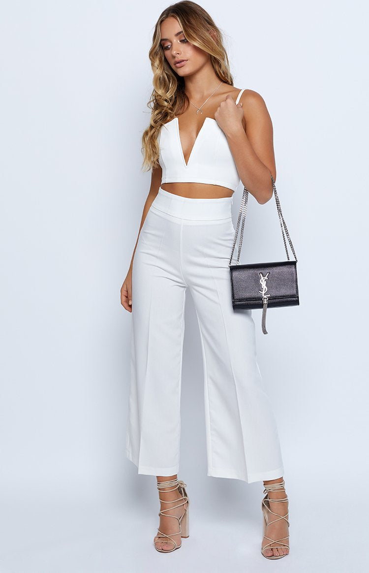 Isla Pants White