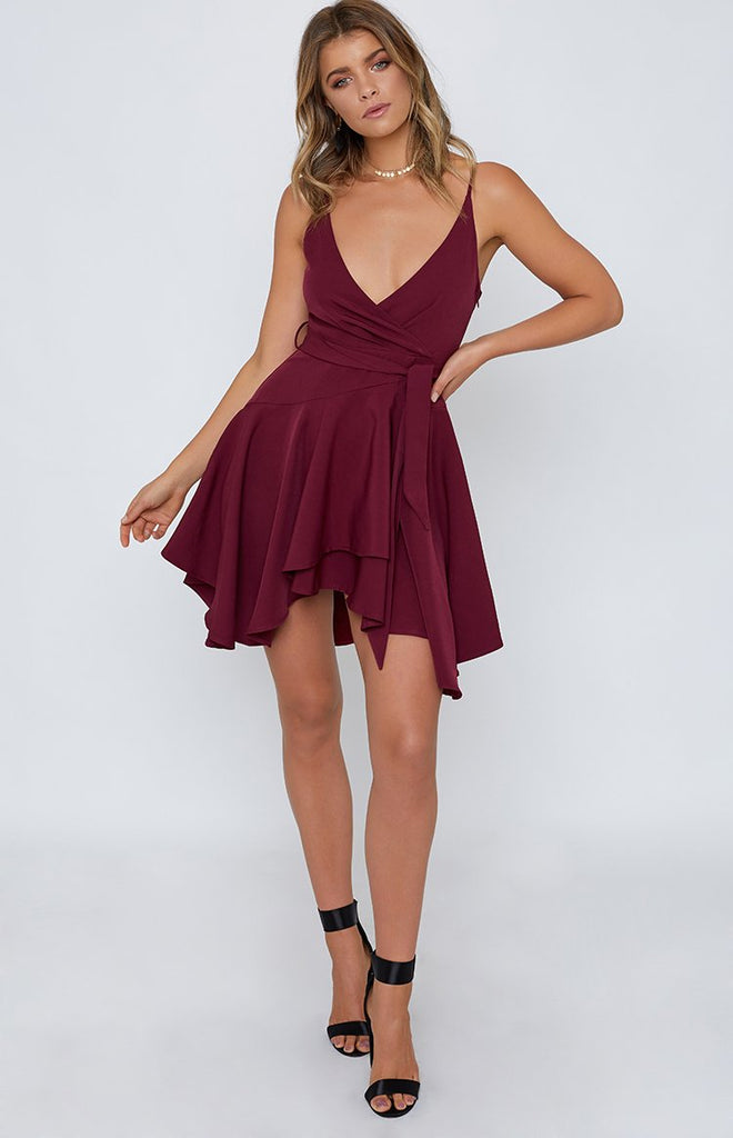 Expenses Dress Plum
