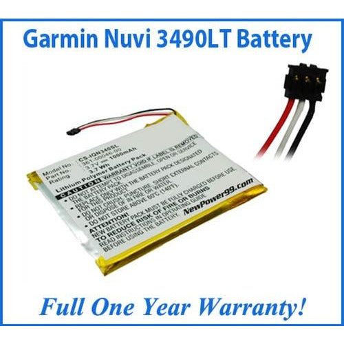 Garmin Nuvi 3490LT Battery Replacement Kit with Tools, Video Instructions, Extended Life Battery and Full One Year Warranty - NewPower99 CANADA
