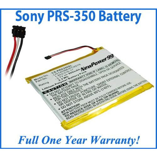 Sony Reader Pocket PRS-350 Battery Replacement Kit with Tools, Video Instructions, Extended Life Battery and Full One Year Warranty - NewPower99 CANADA