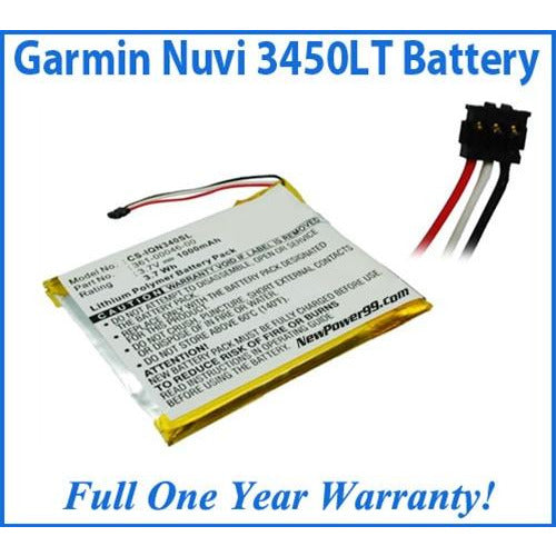 Garmin Nuvi 3450LT Battery Replacement Kit with Tools, Video Instructions, Extended Life Battery and Full One Year Warranty - NewPower99 CANADA