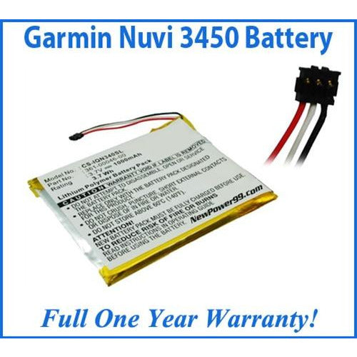 Garmin Nuvi 3450  Battery Replacement Kit with Tools, Video Instructions, Extended Life Battery and Full One Year Warranty - NewPower99 CANADA