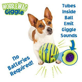 Wobble Wag Giggle Ball, Interactive Dog Toy, Fun Giggle Sounds, As Seen On TV - K9Boxer