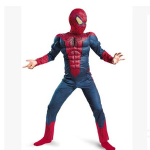 spiderman costume muscle halloween