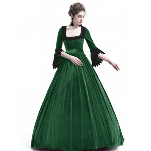 Cosplay Medieval Palace Princess Dress