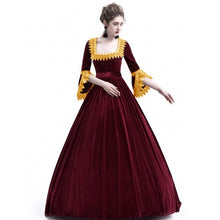 Load image into Gallery viewer, Cosplay Medieval Palace Princess Dress