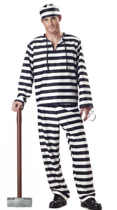 Black White Stripe Prisoner
