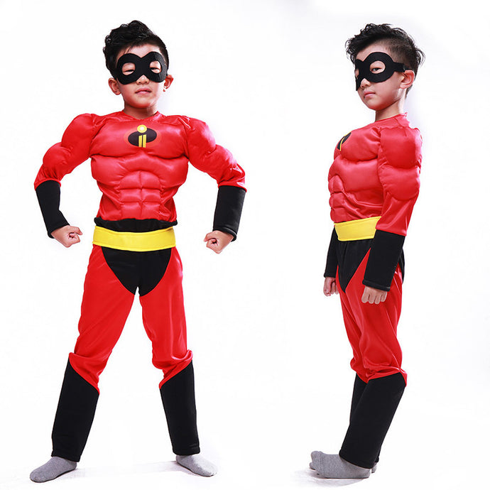 Muscle the incredibles costume clothing