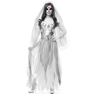 Carnival Party Wear White Ghost