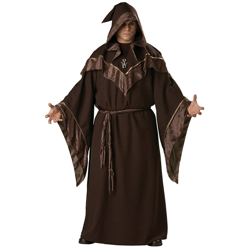 New Medieval Wizard Cosplay Halloween