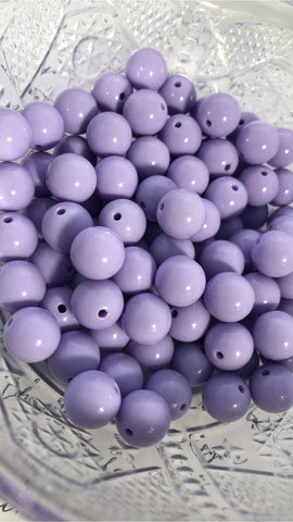 12mm Solids - Purples