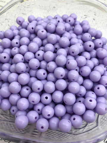 8mm Solids - Purples