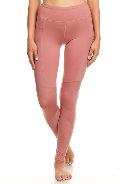Women's High Waist Yoga Pants with mesh Pockets
