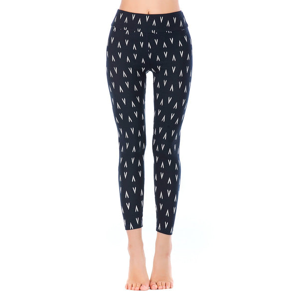 LEGGINGS LADIES/WOMEN COMFORTABLE SPORTS CASUAL PRINT COLOR 10726