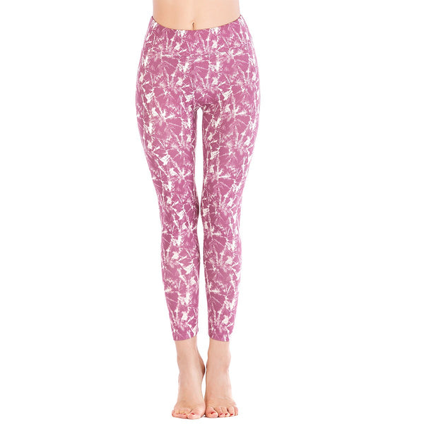 LEGGINGS LADIES/WOMEN COMFORTABLE SPORTS CASUAL PRINT COLOR 10646