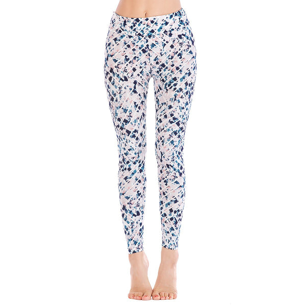 LEGGINGS LADIES/WOMEN COMFORTABLE SPORTS CASUAL PRINT COLOR 10241