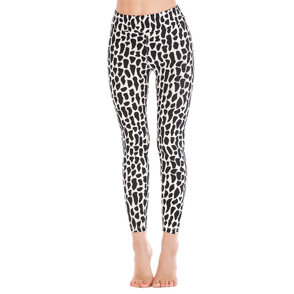 LEGGINGS LADIES/WOMEN COMFORTABLE SPORTS CASUAL PRINT COLOR 1936