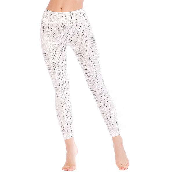 LEGGINGS LADIES/WOMEN COMFORTABLE SPORTS CASUAL PRINT COLOR 10124