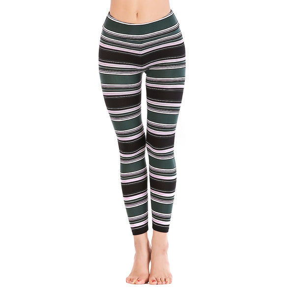LEGGINGS LADIES/WOMEN COMFORTABLE SPORTS CASUAL PRINT COLOR 10376