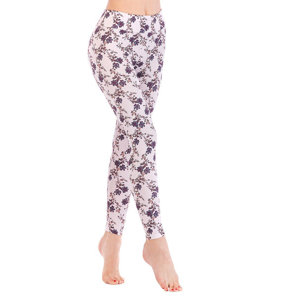 LEGGINGS LADIES/WOMEN COMFORTABLE SPORTS CASUAL PRINT COLOR 10473