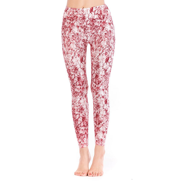LEGGINGS LADIES/WOMEN COMFORTABLE SPORTS CASUAL PRINT COLOR 10195