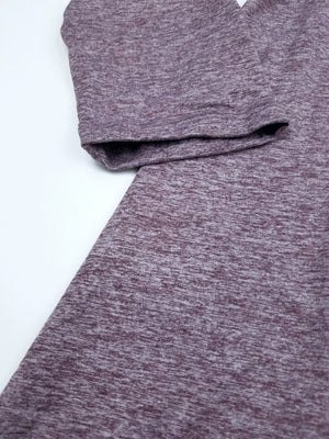 Heathered Burgundy Tunic
