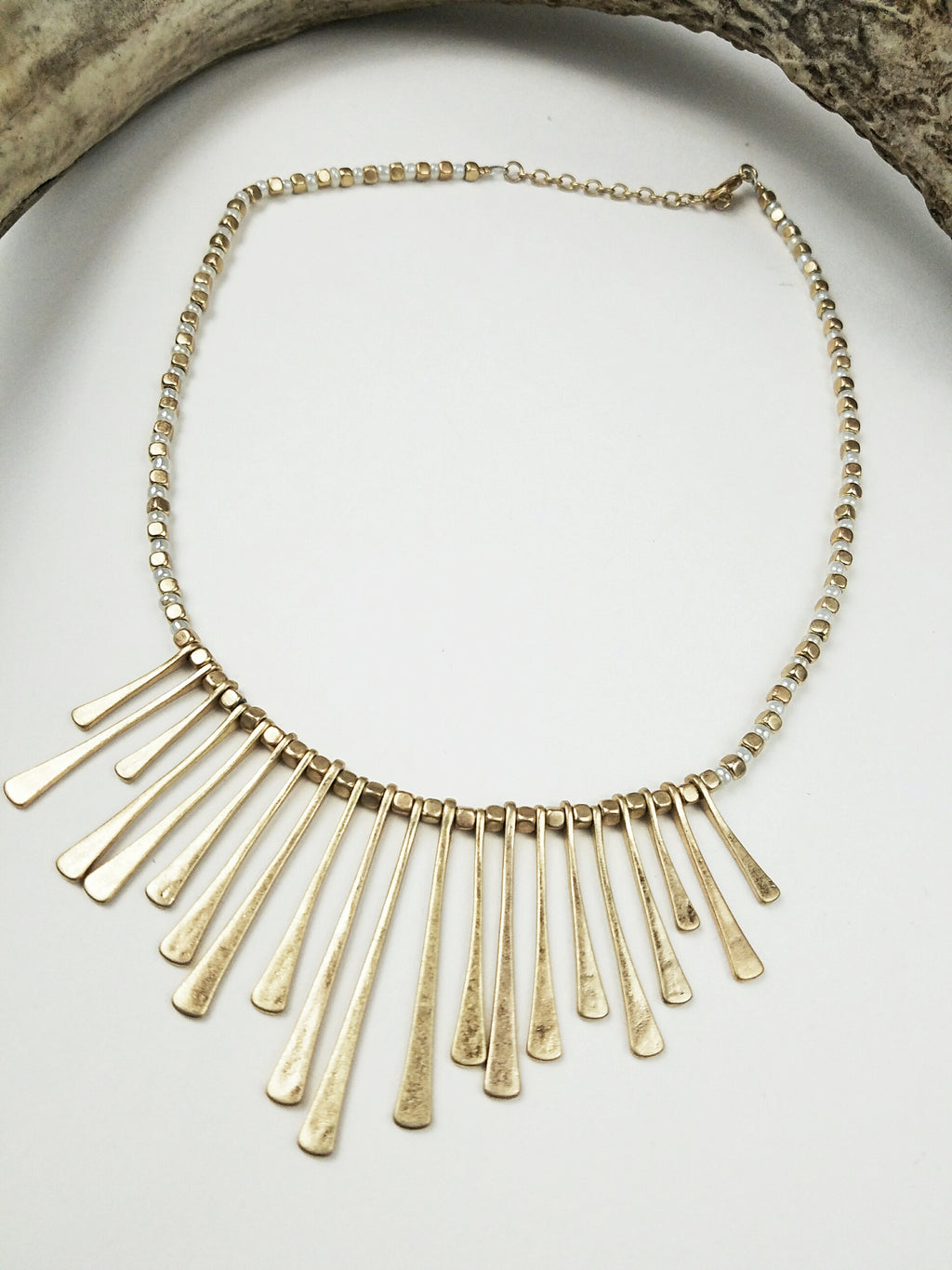Tapered Gold necklace