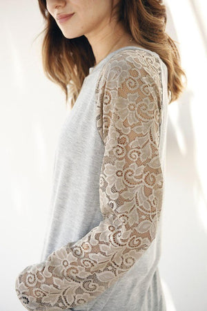Golden Lace sleeve