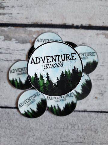 Adventure Awaits Vinyl Sticker