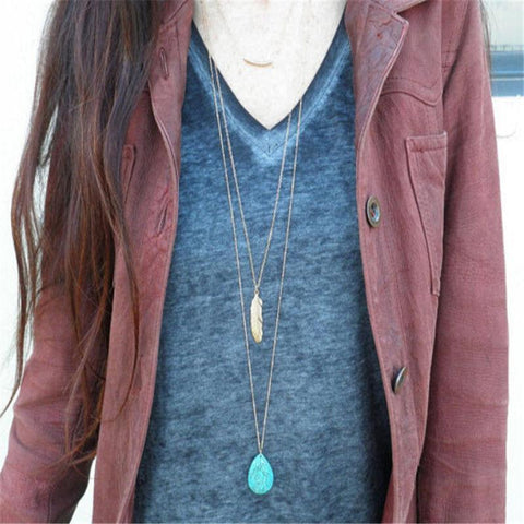 Triple Layer Turquoise