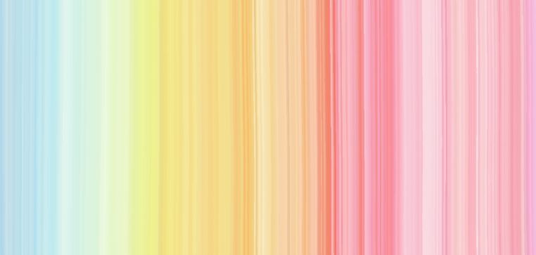Rainbow Stripes Mural