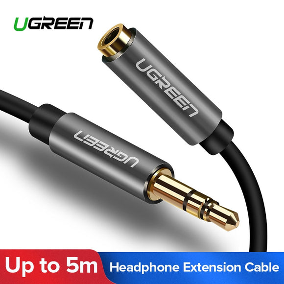 Ugreen 3.5mm Extension Audio Male to Female Cables