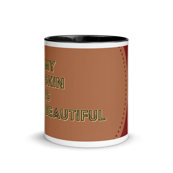 My Skin Is Beautiful Mug - Calisa's Closet