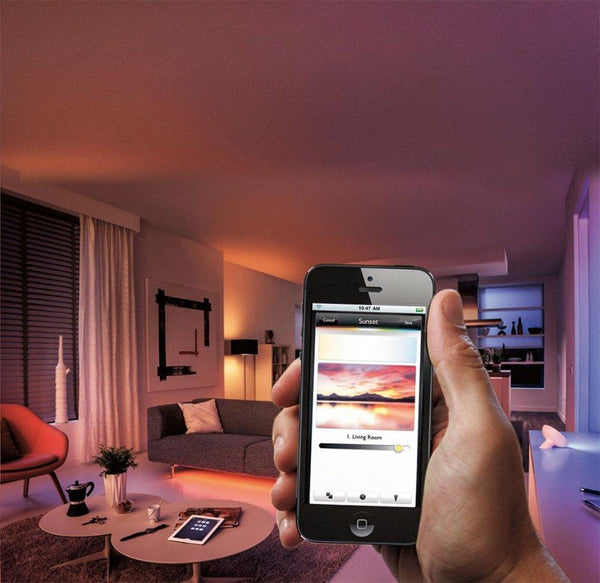 Philips Hue Lightstrip + White and Color Ambiance Starter Kit image 13650625265745