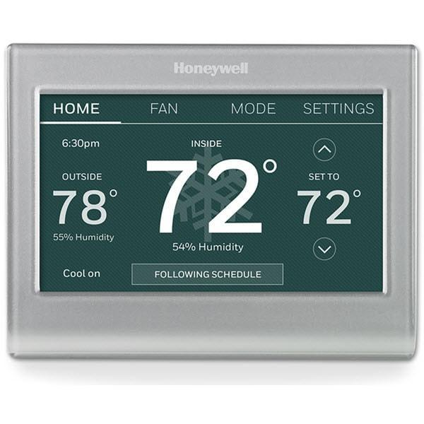 Honeywell Home Wi-Fi Color Touchscreen Programmable Thermostat image 7370505977937