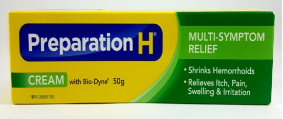 Smoothening Skin Wrinkles with Preparation H (Canadian Version)
