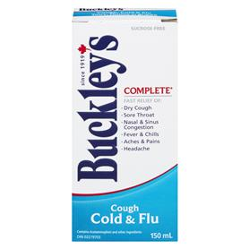 BUCKLEY'S COUGH & COLD & FLU COMPLETE 150ML - NorthernVitality.us