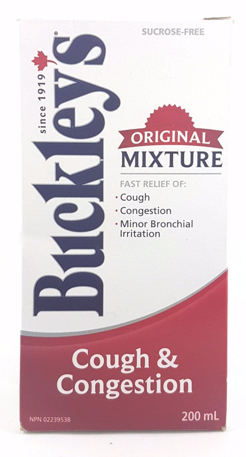 BUCKLEY'S ORIGINAL MIXTURE 200ML - NorthernVitality.us