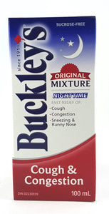 BUCKLEY'S BEDTIME COUGH MIXTURE 100ML - NorthernVitality.us