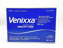 Load image into Gallery viewer, VENIXXA HEALTHY LEGS 500MG 30'S (Mircronised Purified Flavonoid) - NorthernVitality.us