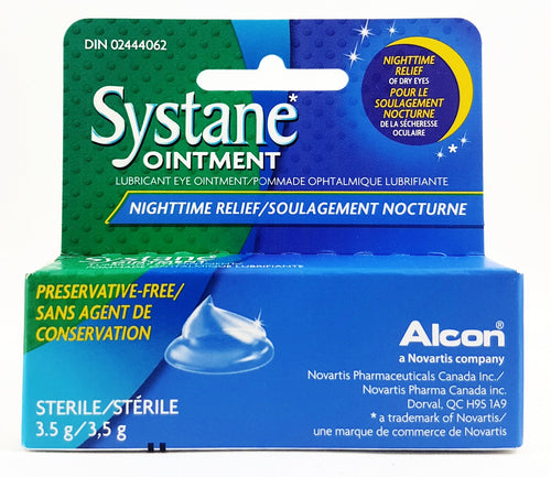 SYSTANE NIGHT EYE OINTMENT 3.5G - NorthernVitality.us